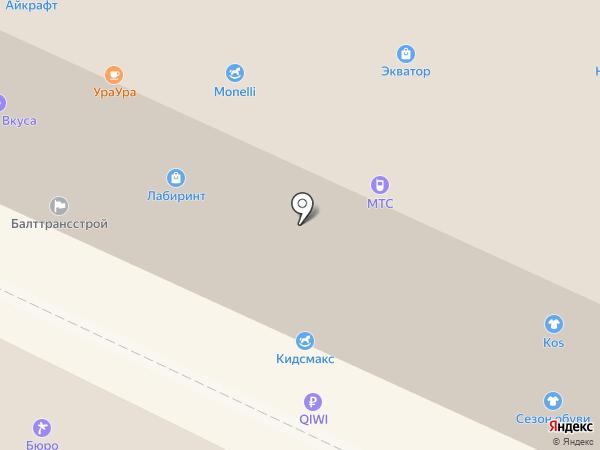 Банкомат, АКБ Связь-банк, ПАО на карте Калининграда
