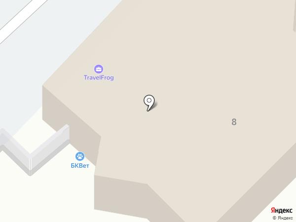 Белый клык на карте Калининграда