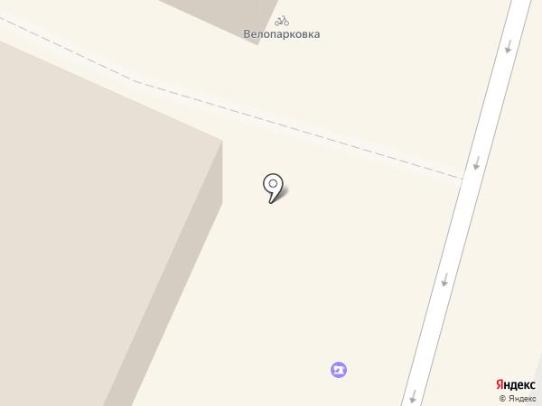 Краб на карте Калининграда