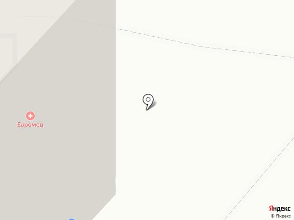 Евромед на карте Калининграда