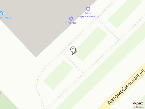 Автостоянка на карте Калининграда