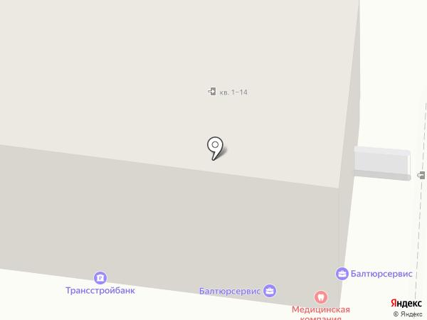 Нэт Бай Нэт Холдинг на карте Калининграда