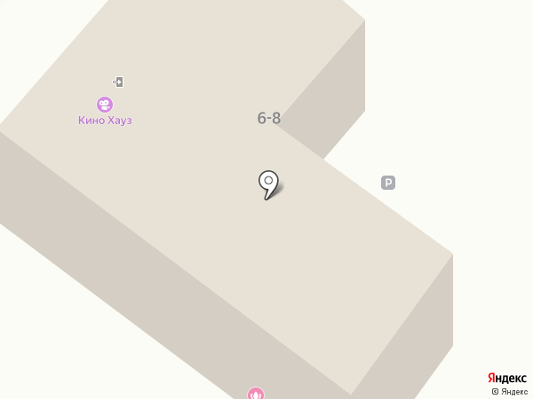 Эристика на карте Калининграда
