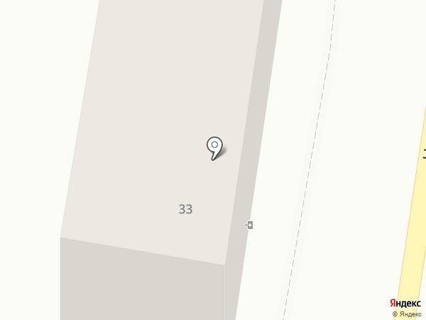 Октавия на карте Калининграда