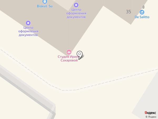 Зеленая планета на карте Калининграда