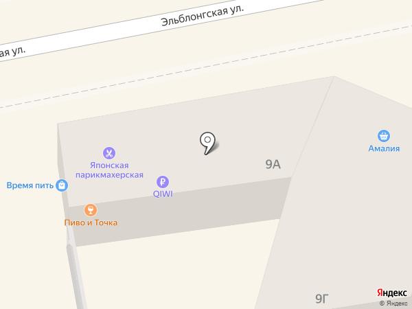 ИМПЕРИЯ ПОТОЛКОВ на карте Калининграда