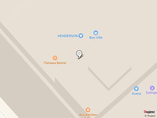 Бухара на карте Калининграда