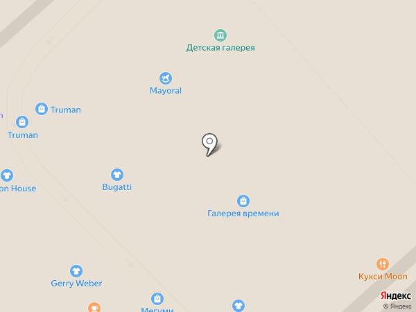 Галерея времени на карте Калининграда