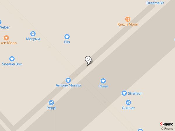 Мегуми на карте Калининграда