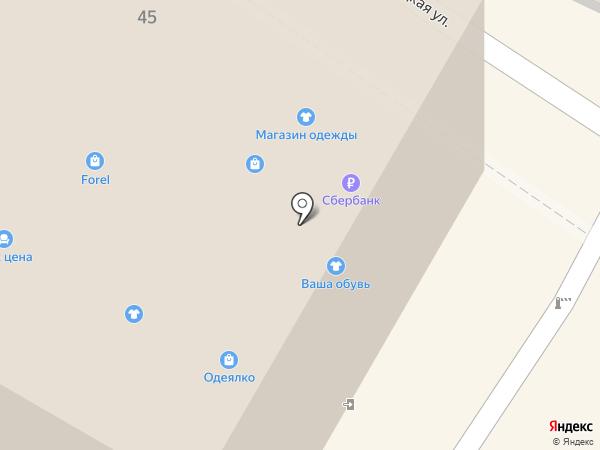 Комсомольская мебельная фабрика на карте Калининграда