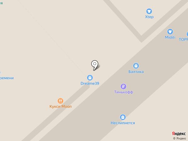 Jacquard на карте Калининграда