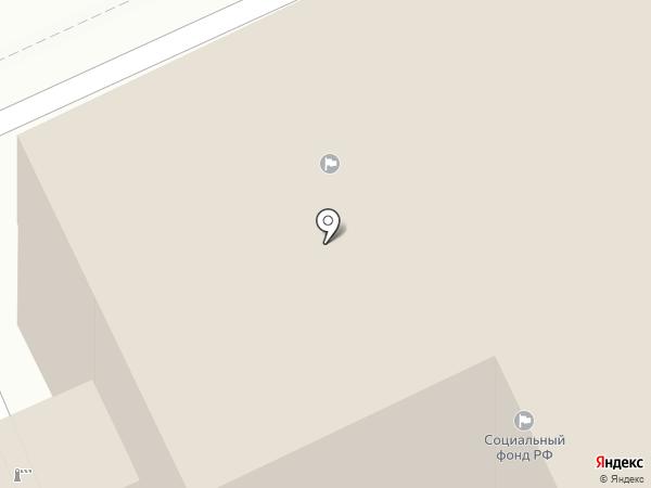 Годограф на карте Калининграда