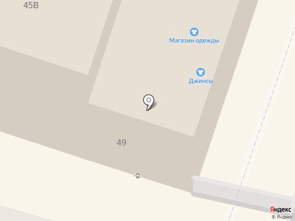 Полоцкий на карте Калининграда