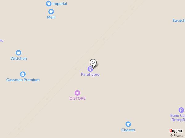 Ricosta на карте Калининграда