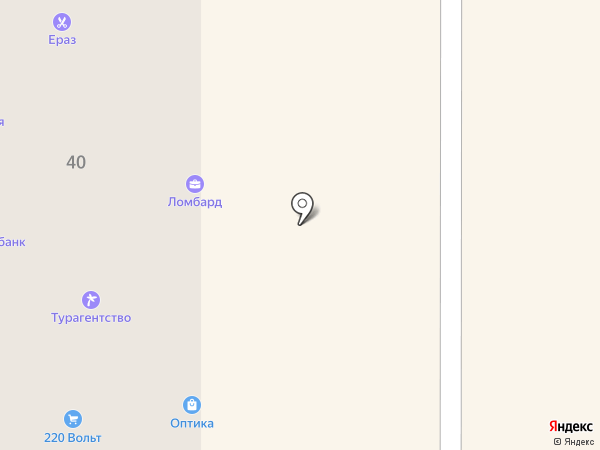 ЕРАЗ на карте Калининграда