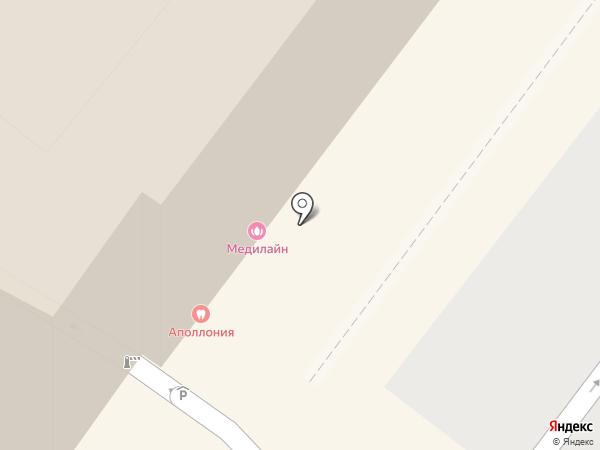 Калининградский страховой центр на карте Калининграда