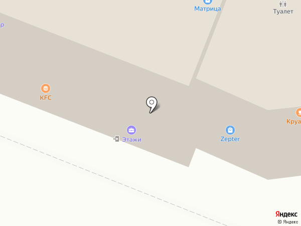 Carl`s Jr на карте Калининграда