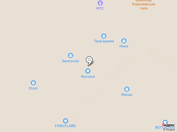 Nursace на карте Калининграда