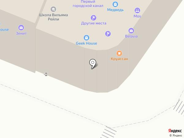 Эскалат на карте Калининграда
