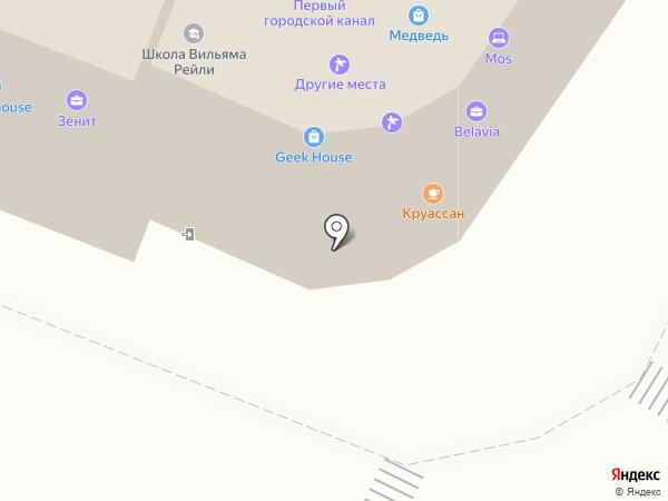 Этажи на карте Калининграда
