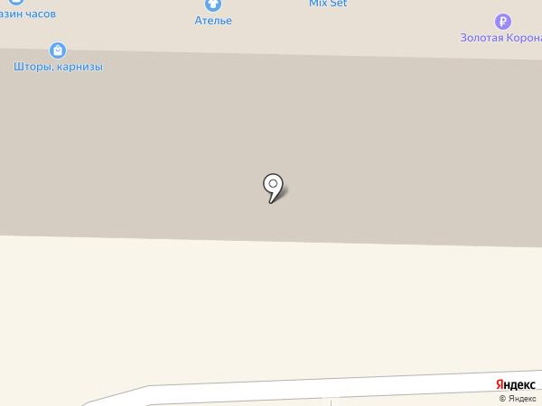 Магазин женской верхней одежды на карте Калининграда