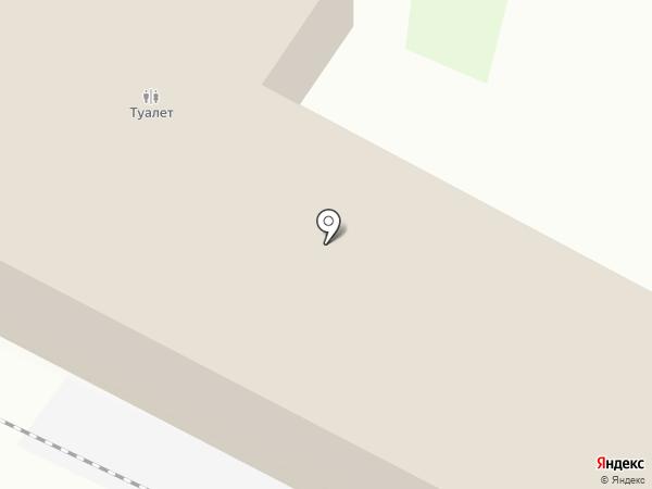Платный общественный туалет на карте Калининграда