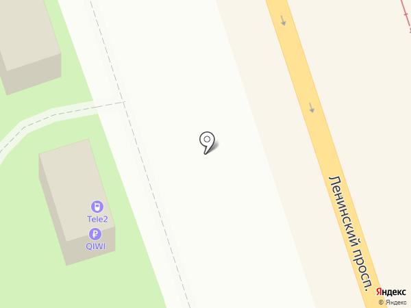 Tele2 на карте Калининграда