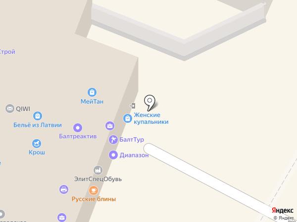 Кард-Инфо на карте Калининграда