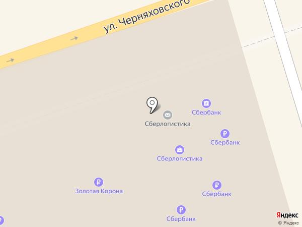 Сбербанк, ПАО на карте Калининграда