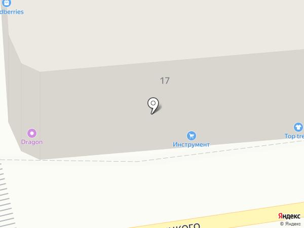 Он и Она на карте Калининграда