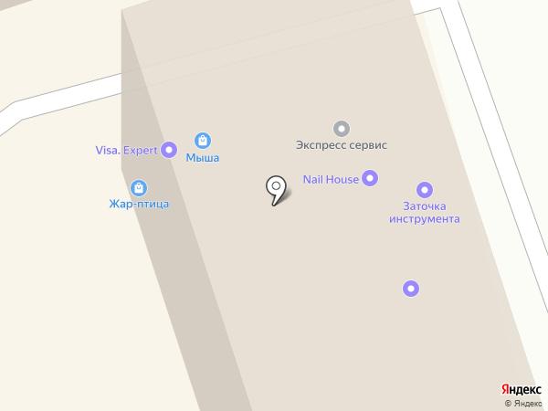 Музматрица на карте Калининграда