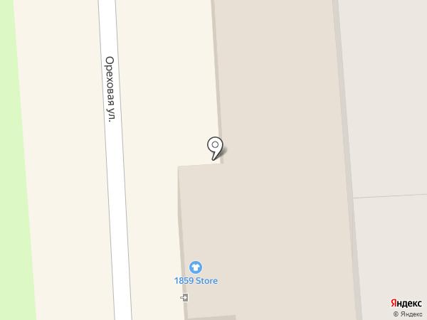 Алеста на карте Калининграда