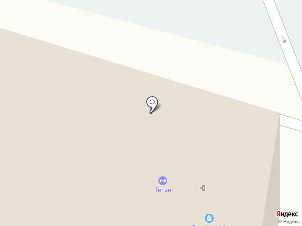 Ас-Дом на карте Калининграда