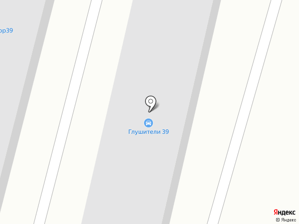 Автомастер+ на карте Калининграда
