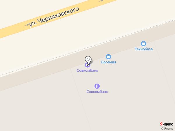 Совкомбанк, ПАО на карте Калининграда