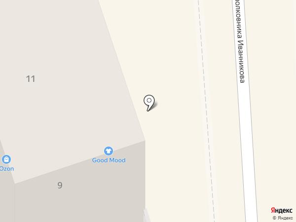 Сердцеедка на карте Калининграда