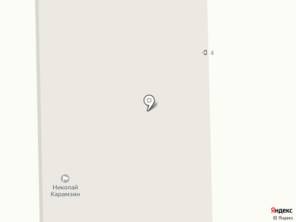 Самбия-юг на карте Калининграда