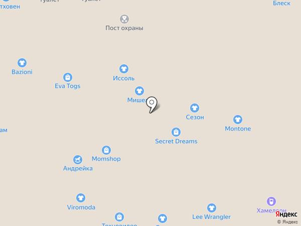 Aura на карте Калининграда