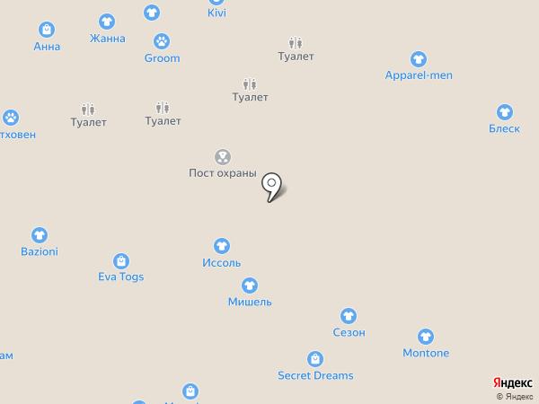 Шатура на карте Калининграда