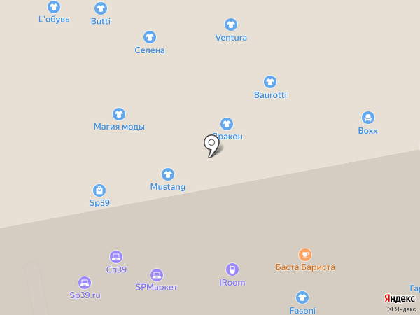 iRoom на карте Калининграда