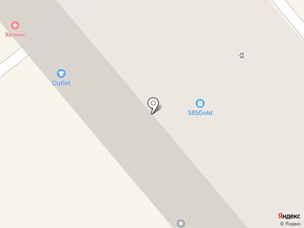 Балтамбер на карте Калининграда