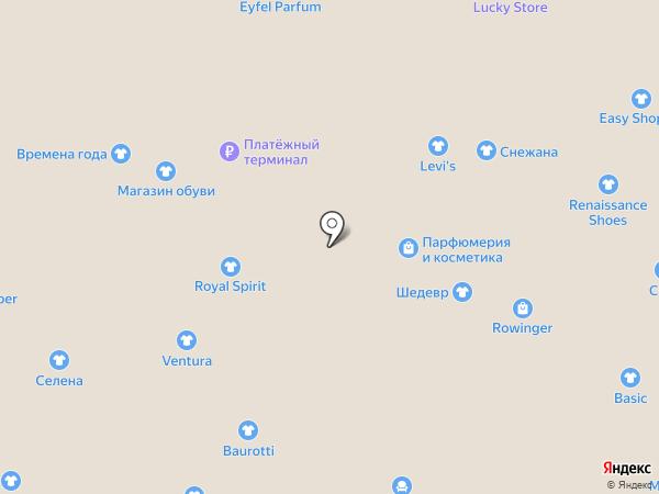 Ventura на карте Калининграда