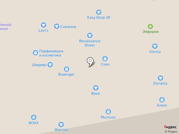 Divanger на карте Калининграда