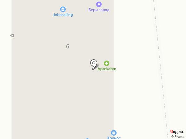 Китайский лекарь на карте Калининграда