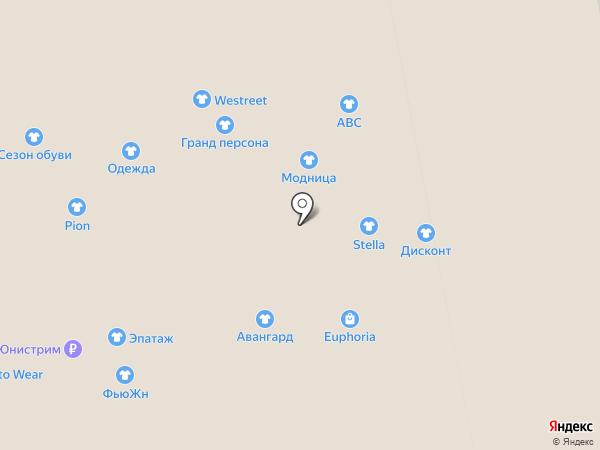 Балтик Мебель на карте Калининграда