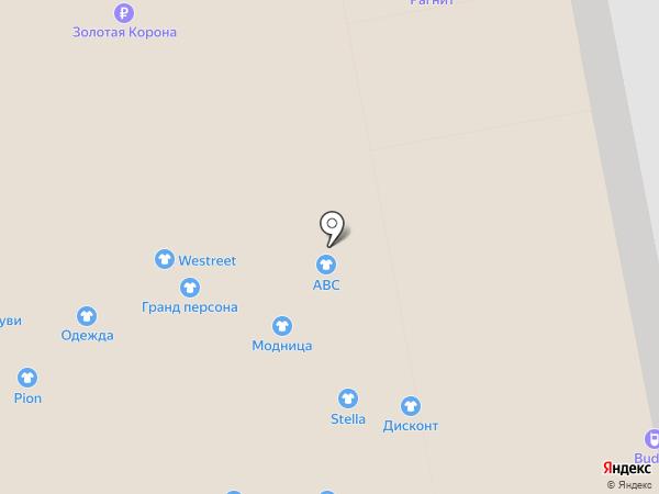 One concept store на карте Калининграда