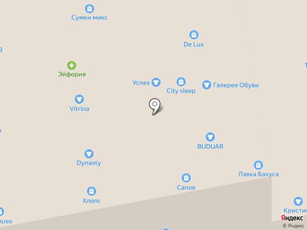 Хлопс на карте Калининграда