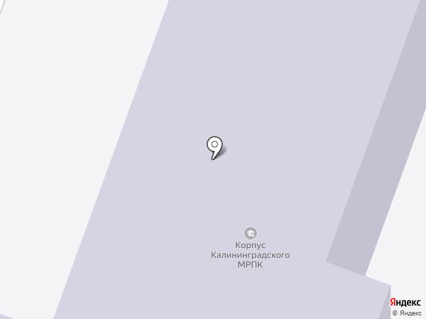 Автошкола на карте Калининграда