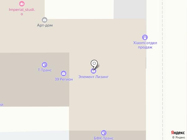 Квартирный Вопрос на карте Калининграда