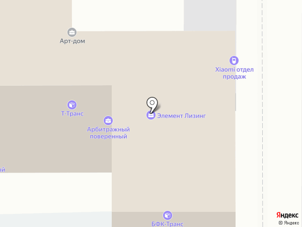 АРТ-ДОМ на карте Калининграда